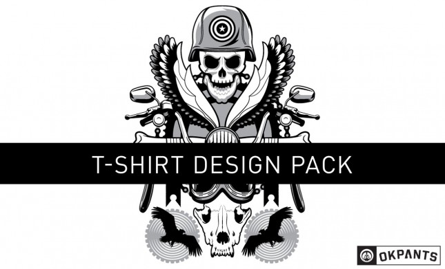road hog custom vector shirt design pack