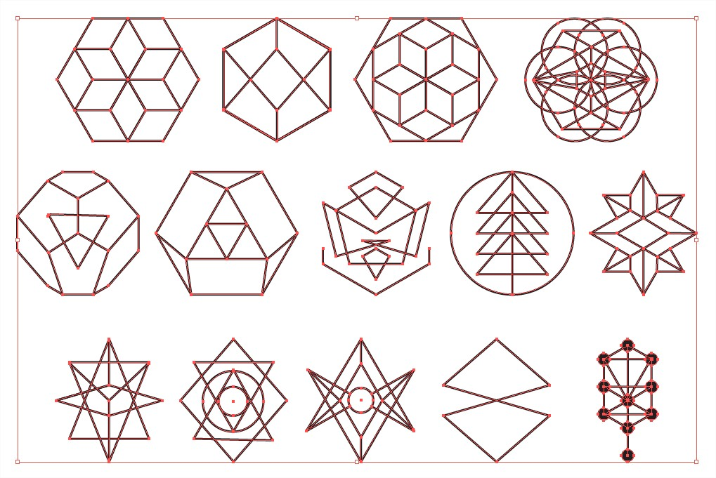 sacred geometry vector pack for adobe illustrator hexagon vector extensions hvx hexagon vector freepik