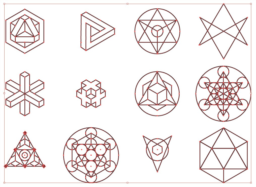 Sacred Geometry Points