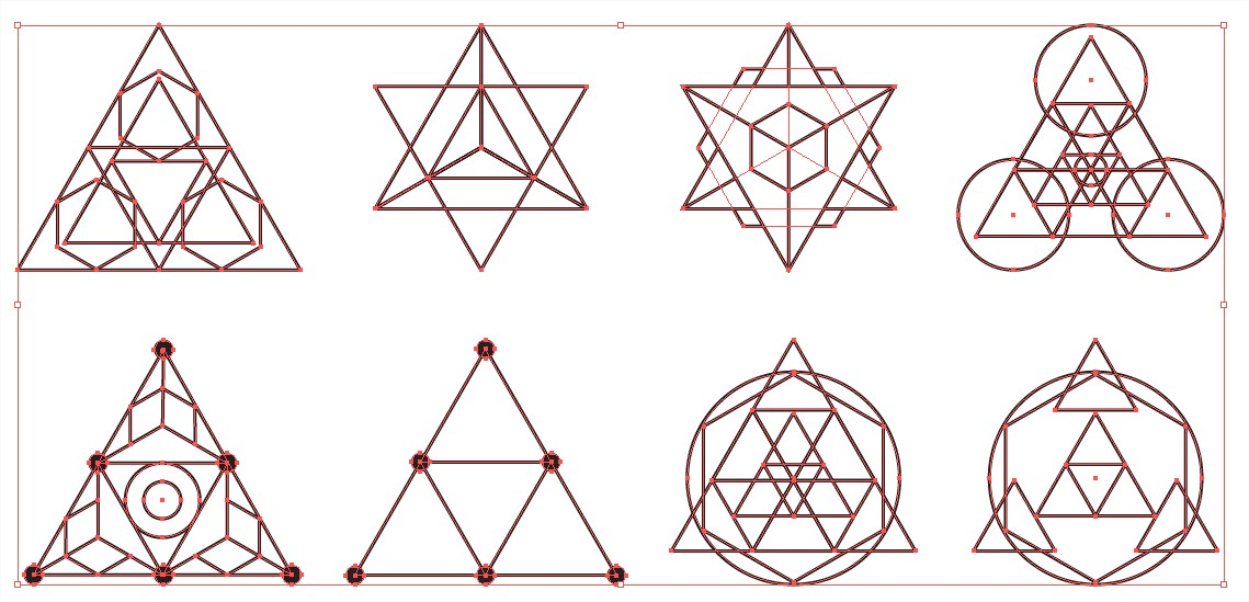 sacred geometry vector pack for adobe illustrator