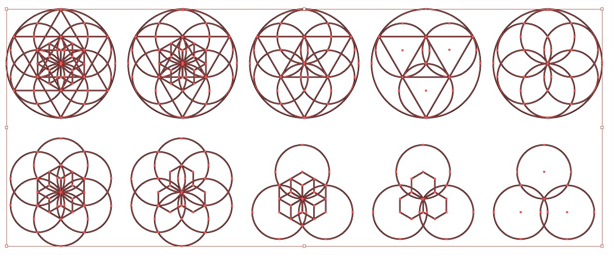 Sacred Geometry Vector Pack 5