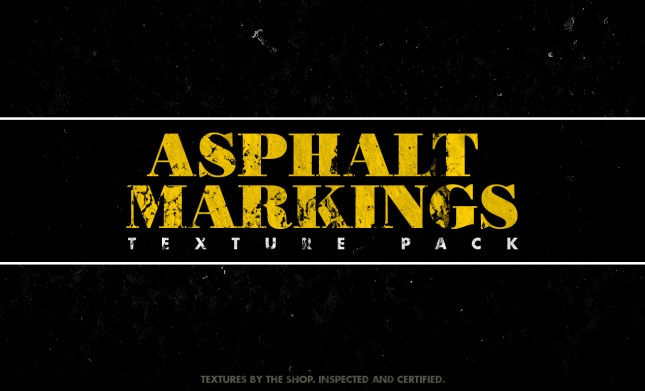 Adobe Photoshop Texture Sbh Asphalt Markings Texture Pack Arsenal Visual Aspacks Rev 01 01 Hero Shot