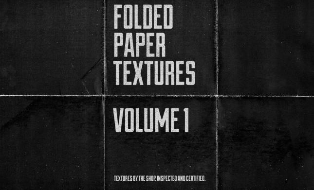 Adobe Photoshop Texture Sbh Paper Folds Texture Pack, Volume 1 Hero Shot