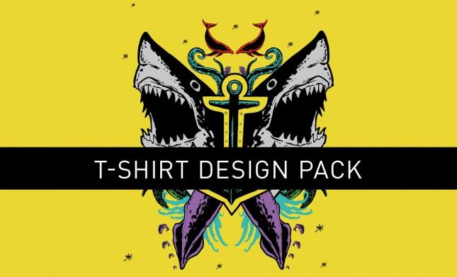 Sharkattack Tshirtdesignpack Hero