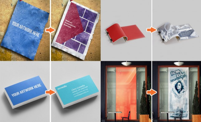 ultimate-paper-and-poster-mockup-templates-bundle-hero