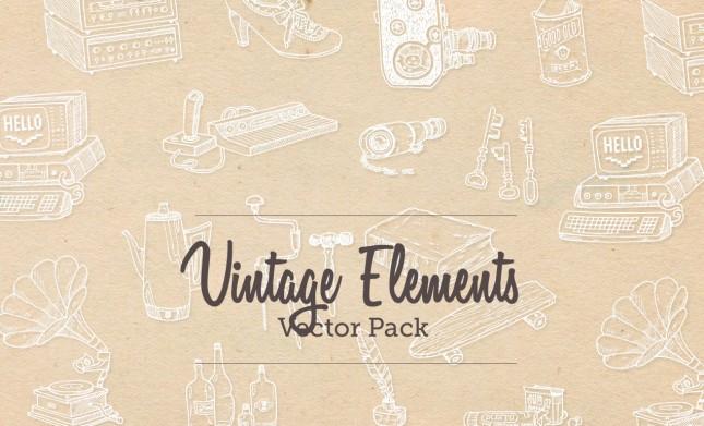 vintage vector pack