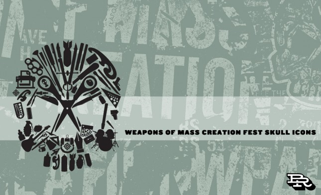 Weapons Of Mass Creation Skull Icons Hero