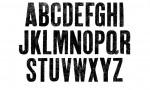 Adobe Photoshop Texture  0005  Tex Herbal Letterpress Condensed Uppercase Cement