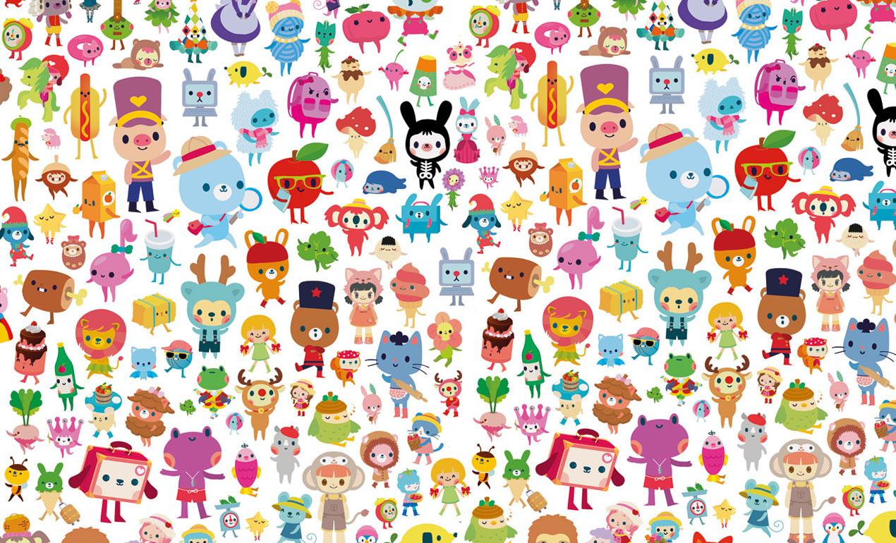 Kawaii Illustration and Character Design