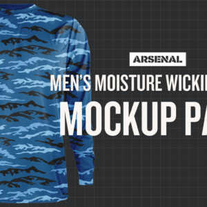 Moisture Wicking Shirt Mockup Template Pack