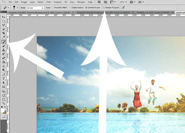 How to Remove a Subject from Photo in Photoshop