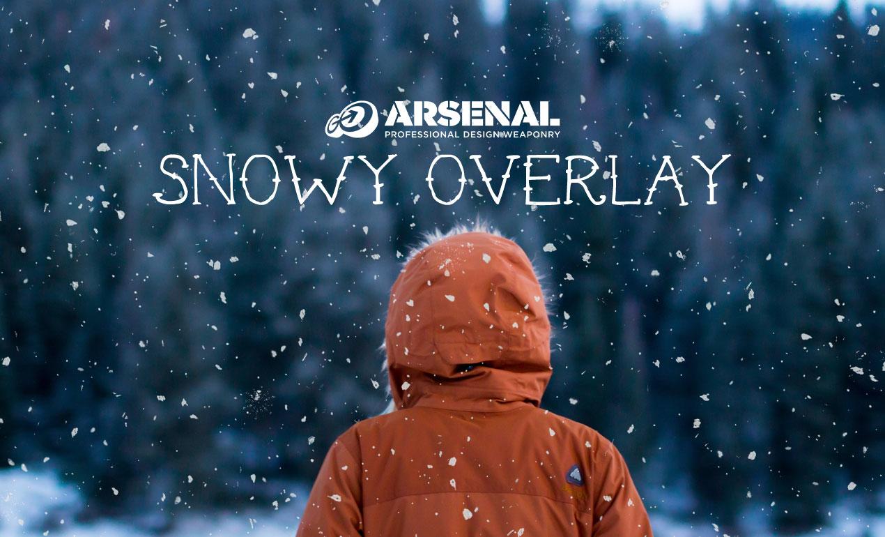 Snow Overlay Freebie