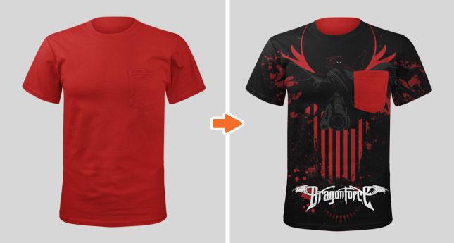 Men S Pocket T Shirt Mockup Template Pack