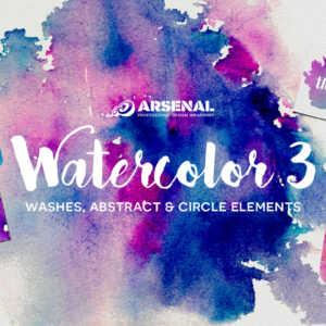 Watercolor Elements Pack
