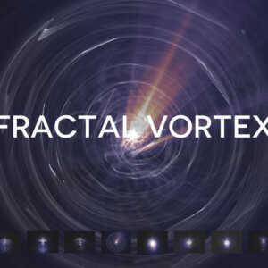 Fractal Vortex Light Ray Texture Pack