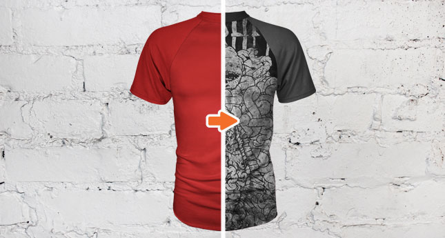 Men S Short Sleeve Raglan T Shirt Mockup Template Pack