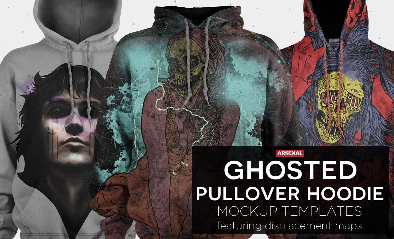 Pullover Hoodie Mockup Template Pack