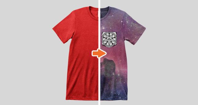 Men's Triblend Pocket T-Shirt Mockup Template Pack