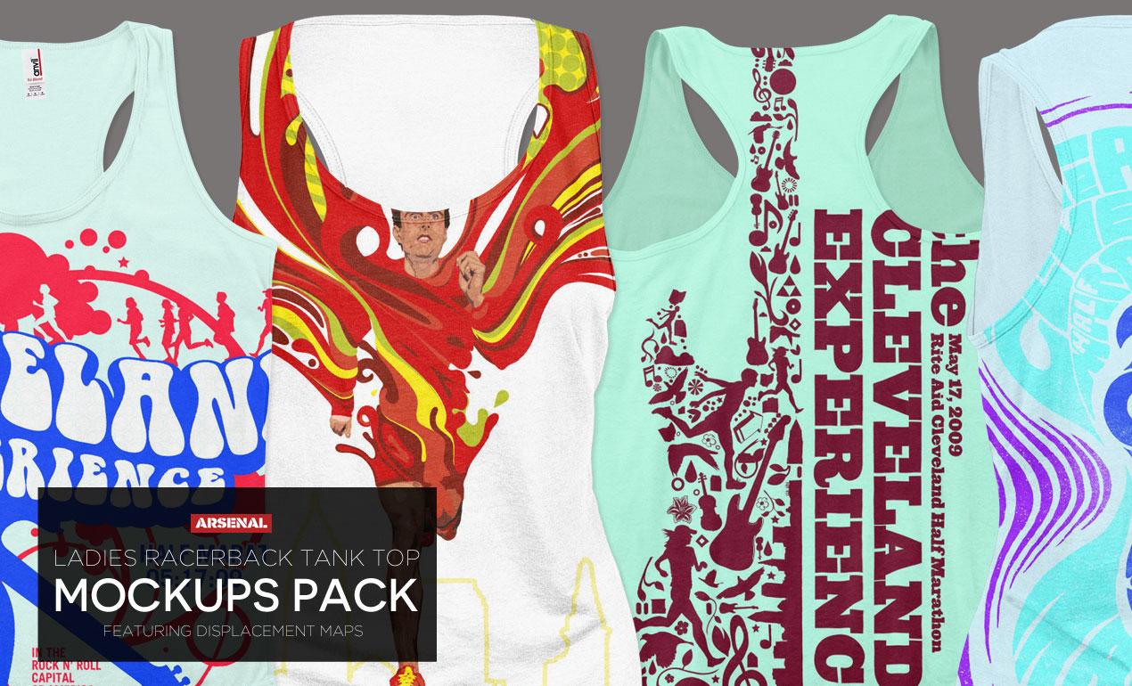 Ladies-Racerback-Tank-Mockups-Pack