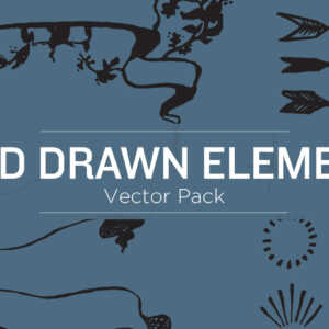 Hand Drawn Elements Vector Pack