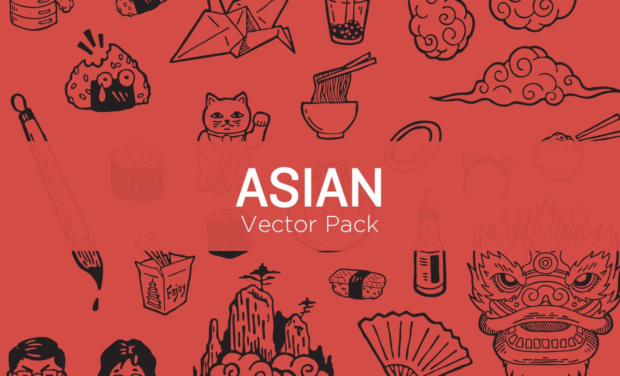 Asian-Vector-Pack-Hero