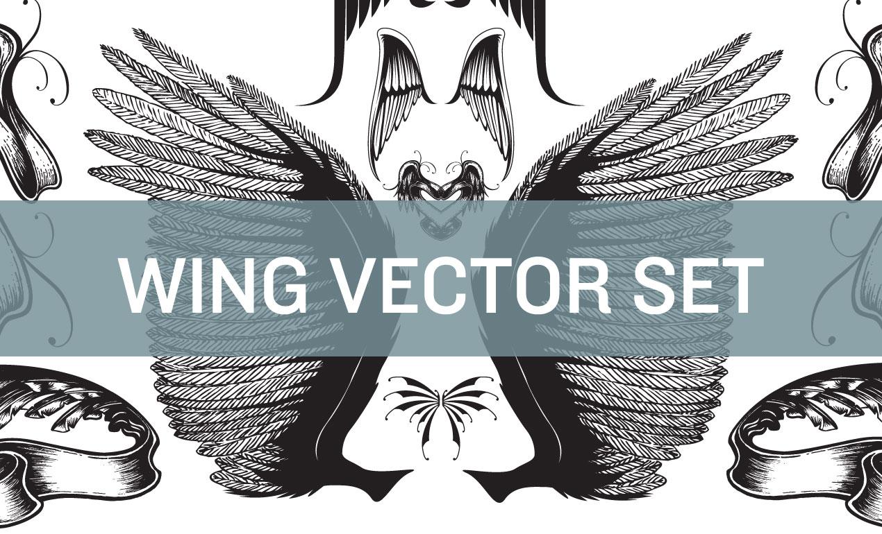 Wing-Vector-Set-Hero