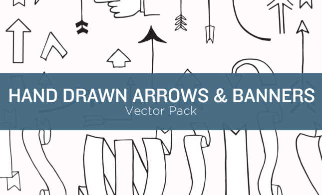 Hand Drawn Arrow Vectors