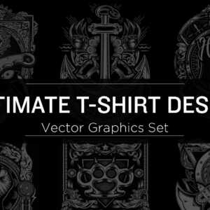 T-Shirt Design Vector Graphics