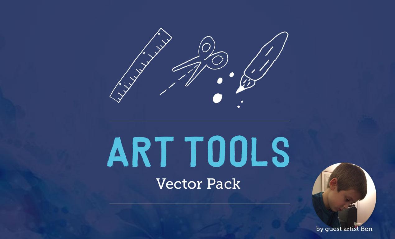 Art Tools Vector Pack