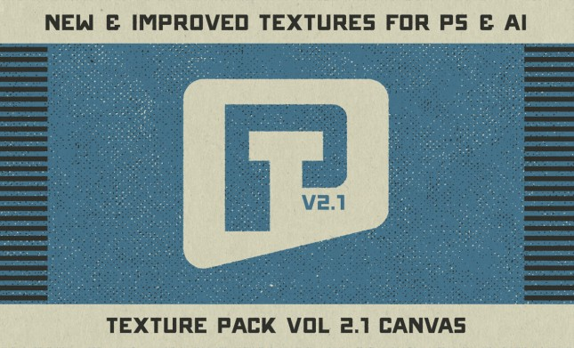 Canvas Halftone Texture Pack