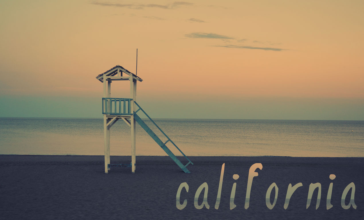 California Display Font