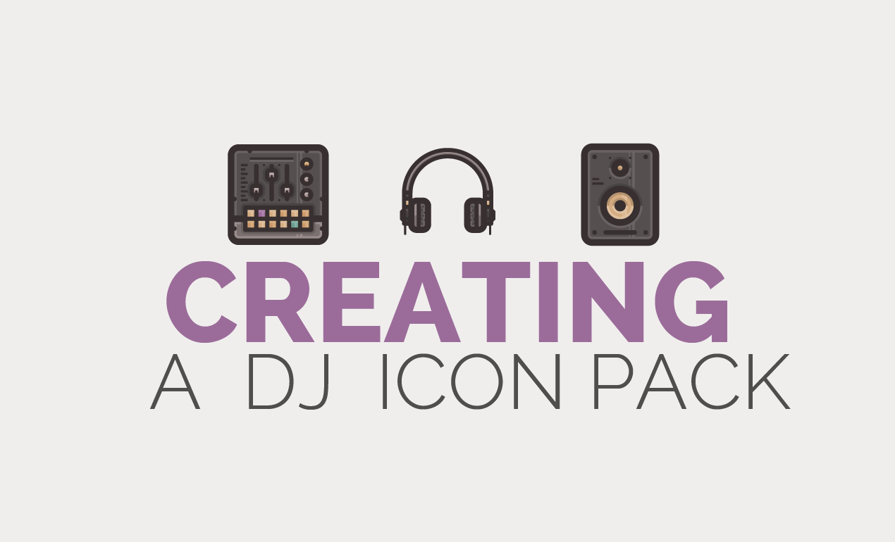 How to Create Flat Icons in Illustrator