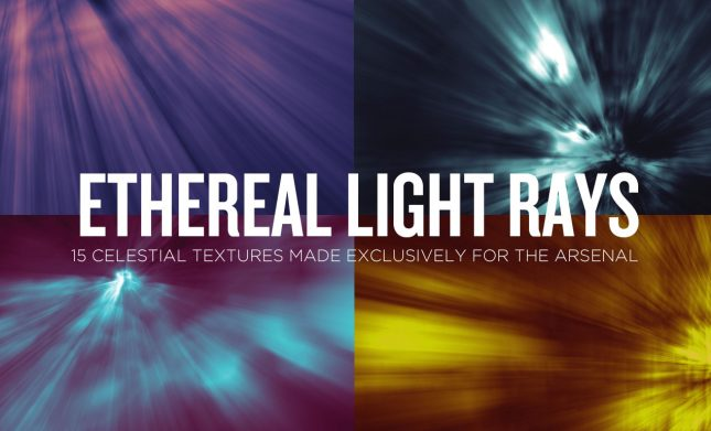 Ethereal Light Rays Abstract Texture Pack