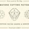 Gemstone Pattern Vectors