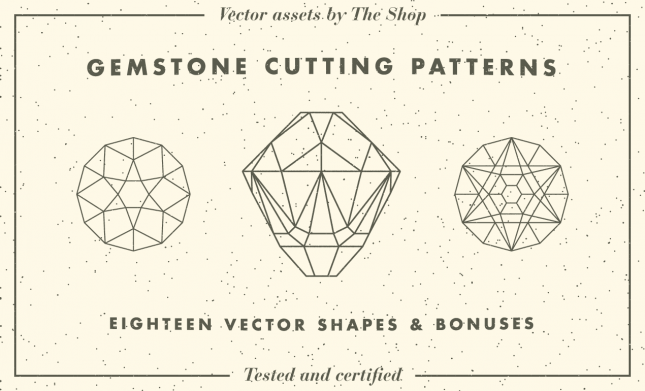 Gemstone Pattern Vectors