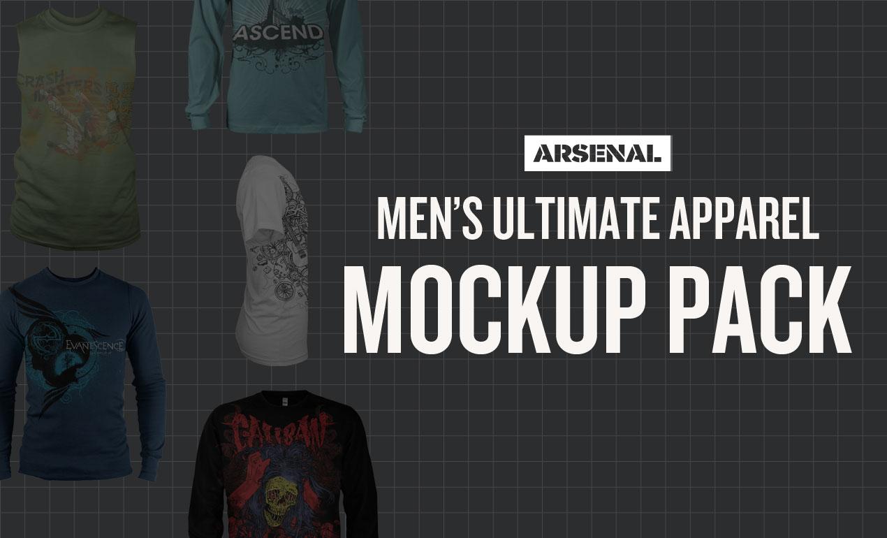 Men's Apparel Mockups