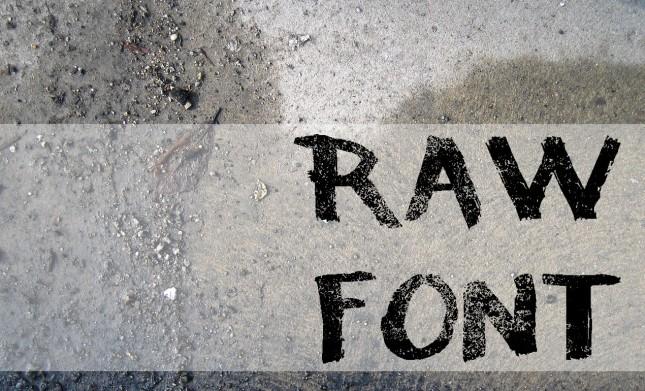 Raw-Font-Hero