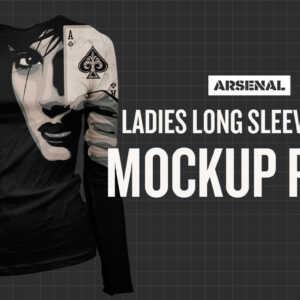 long sleeve shirt mockup