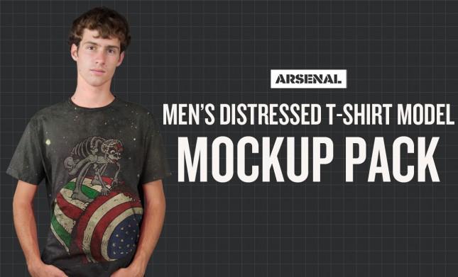 Model Mockup Templates: T-Shirt Model Mockups