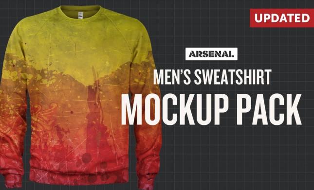 sweatshirt mockup templates