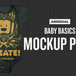 Baby Mockup Templates Pack by Go Media