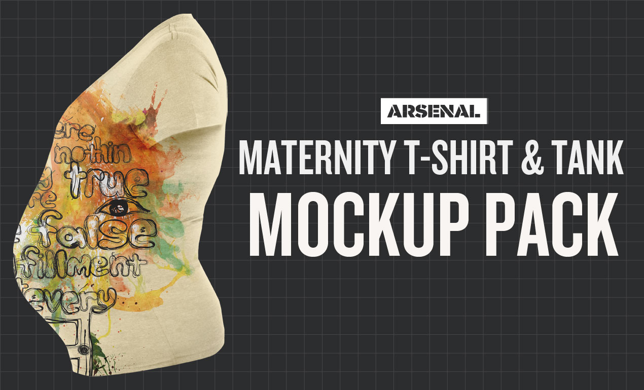 Maternity Mockup Template Pack
