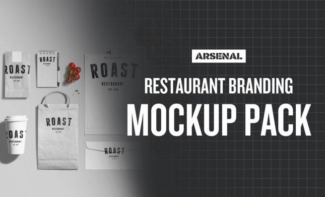 Restaurant Branding Mockup Pack