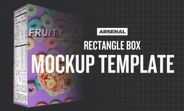 Rectangle-Box MOCKUP TEMPLATE