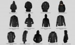 all - ladies ghosted hoodie mockup templates pack