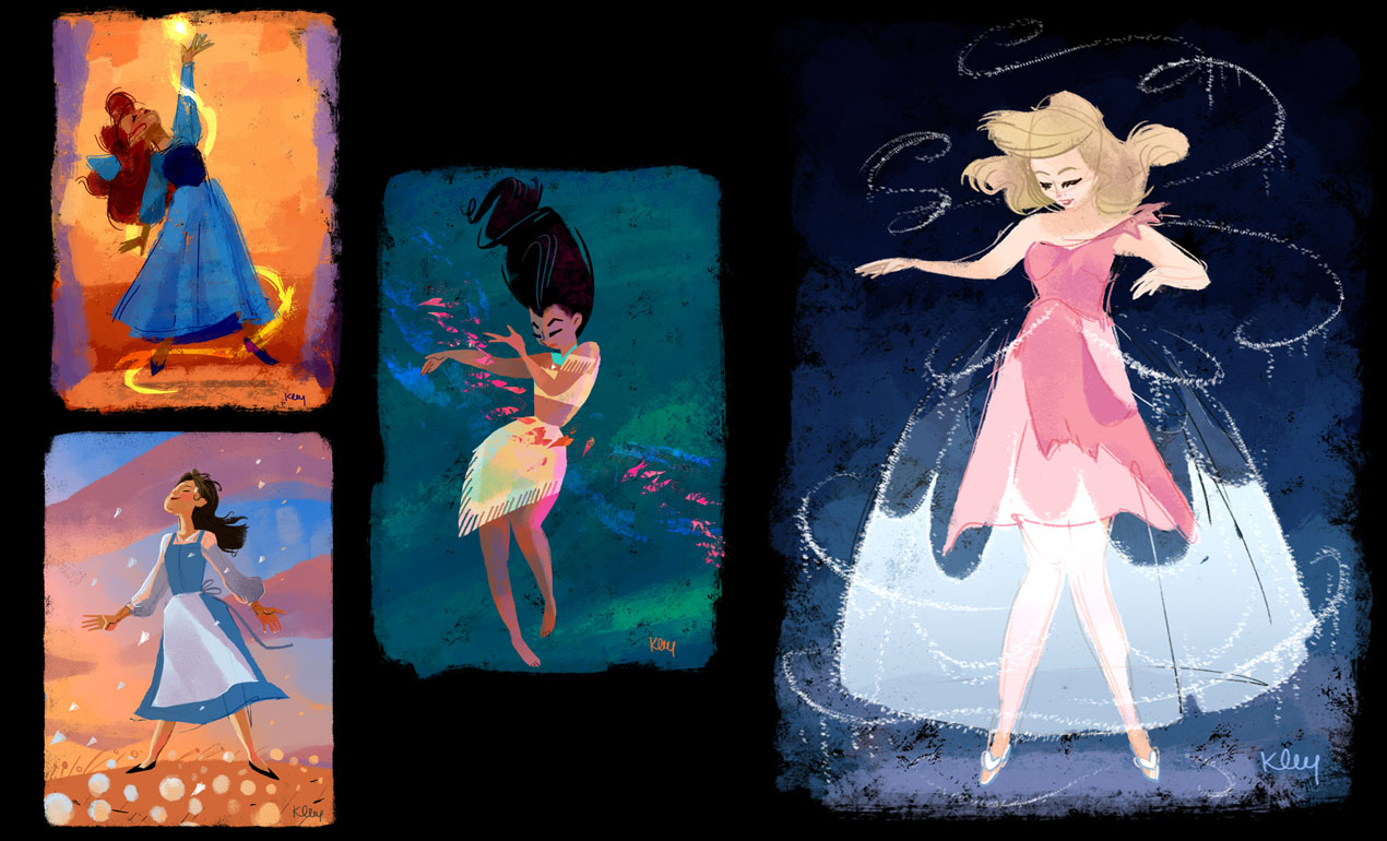 Disney Illustration Tutorial by Katia Oloy