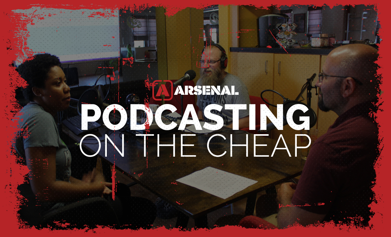 Podcasting On The Cheap