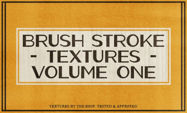 Brush Strokes Textures, Volume 1