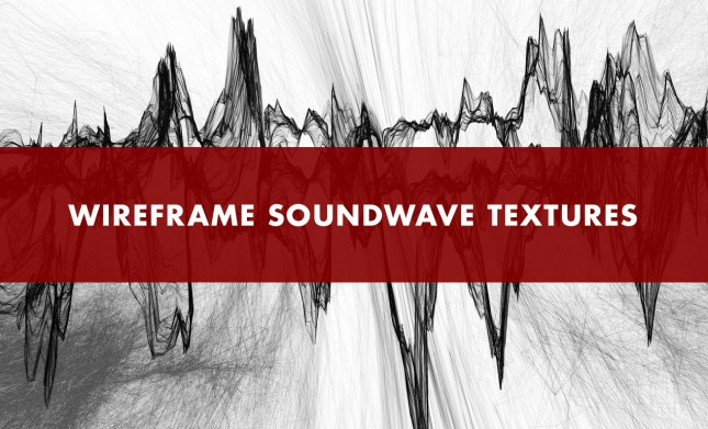 Wireframe SoundWave Texture Pack