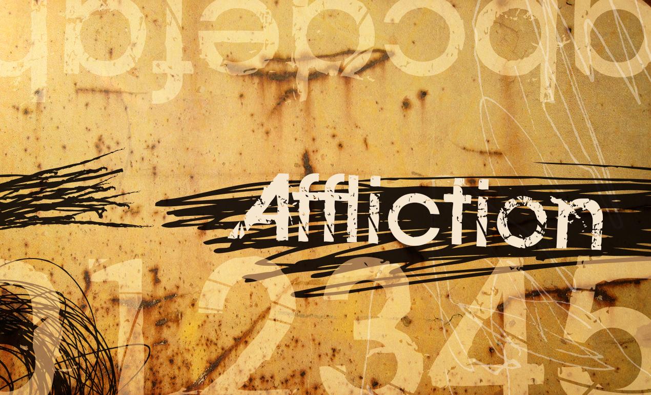 Affliction Grunge Font by Go Media's Arsenal